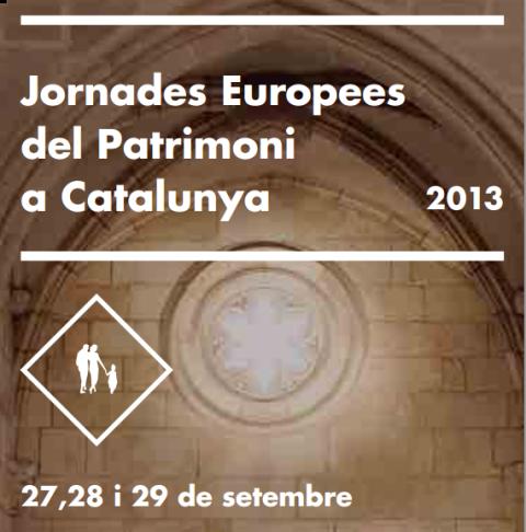 Jornades Europees de Patrimoni 2013